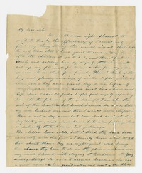 To Margaret Hallowell -- From Sarah Brooke Farquhar