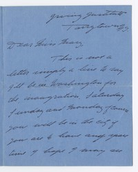 To Mary B. Brooke -- From Dick Dean