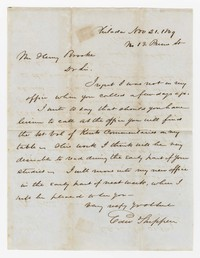 To Henry Briggs Brooke -- From Edward Shippen