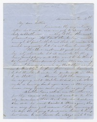 To Henry Briggs Brooke -- From Eliza Brooke with M. E. Hallowell