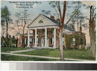 Brompton Mansion, Fredericksbug, Virginia, 1907-1914