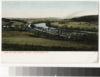 View of the Lehigh Valley, Allentown, Pennsylvania, 1901-1907