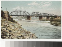 New Lehigh Bridge, Allentown, Pennsylvania, 1906