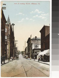 11th Street looking North in Altoona, Pennsylvania, 1907-1914