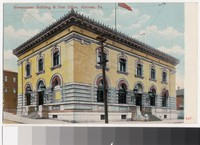 Government Building and Post Office, Altoona, Pennsylvania, 1907-1914