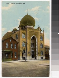 Jaffa Temple, Altoona, Pennsylvania, 1907-1911