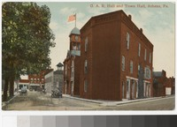 G. A. R. Hall and Town Hall, Athens, Pennsylvania, 1907-1914