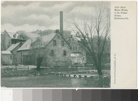 First water works in the United States, Bethlehem, Pennsylvania, 1901-1907