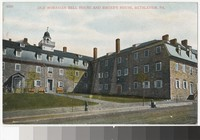 Old Moravian Bell House and Sister's House, Bethlehem, Pennsylvania, 1907-1914