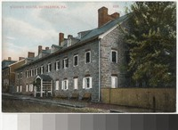 Widows House, Bethlehem, Pennsylvania, 1907-1914