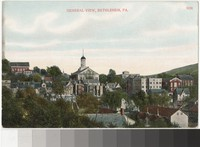 General view of Bethlehem, Pennsylvania, 1907-1914