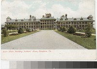 Main Building of the Soldiers' Home, Hampton Virginia, 1901-1907