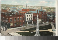 View Northeast from Butler County National Bank, Butler, Pennsylvania, 1907-1914