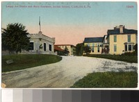 Leupp Art Studio and Main Entrance, Indian School, Carlisle, Pennsylvania, 1907-1914