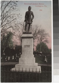 Statue of Stonewall Jackson, Lexington, Virginia, 1907-1914