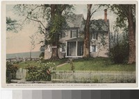 Washington's headquarters at the Battle of Brandywine, Chadds Ford, Pennsylvania, 1907-1914