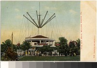 Air Ship ride, Willow Grove Park, Pennsylvania, 1901-1907
