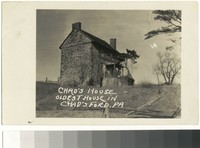 Chad's House, the oldest house in Chadds Ford, Pennsylvania, 1901-1907