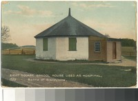 Eight Square School House, Chadds Ford, Pennsylvania, 1907-1912