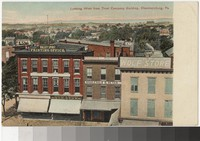 View from Trust Company Building, Chambersburg, Pennsylvania, 1907-1914