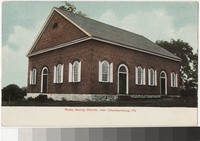 Rocky Spring Church, Chambersburg, Pennsylvania, 1901-1907