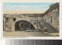 Arch at Fort Marion, St. Augustine, Florida, 1915-1930