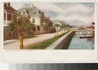 Sea Wall, St. Augustine, Florida, 1901-1907