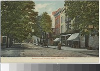 Second Street looking south, Clearfield, Pennsylvania, 1907