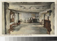 Dining Room, Oldest House in the United States, St. Augustine, Florida, 1915-1930