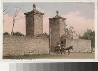 Old City Gate, St. Augustine, Florida, 1907-1930