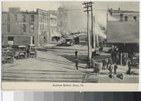 Business Section of Corry, Pennsylvania, 1907-1914