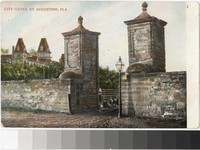 City Gates of St. Augustine, Florida, 1901-1907
