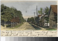 West State Street, looking east, Curwensville, Pennsylvania, 1901-1907