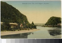 Delaware River view from Weygat Mountain, Pennsylvania, 1907-1914