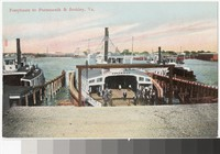 Ferryboats to Portsmouth and Berkley, Virginia, 1907-1914