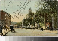 Monument Square, Lowell, Massachusetts, 1907-1909