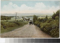 A carriage on the road to Bethlehem, Bethlehem, New Hampshire, 1901-1907