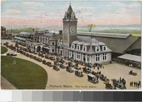 Union Station, Portland, Maine, 1907-1909