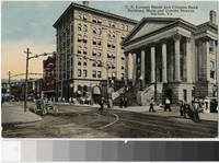 United States Customs House and Citizens Bank Building, Norfolk, Virginia, 1907-1914