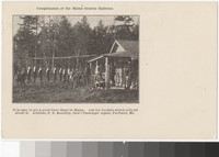 Hunting outpost, Maine, 1901-1907