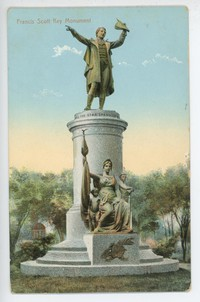 Francis Scott Key Monument, 1907-1914