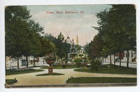 Eutaw Place in Baltimore, Maryland, 1907-1911