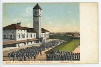 Arrival of the 5th Regiment at Mount Royal Station in Baltimore, Maryland, 1907-1914