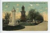 Federal Hill Park in Baltimore, Maryland, 1907-1911