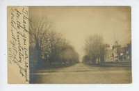 Street in Annapolis [?], Maryland, 1907