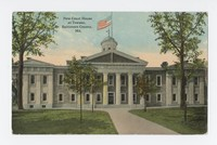 New courthouse at Towson, Baltimore County, Maryland, 1907-1915