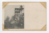 High Rock, Pen-Mar Park, in the Blue Ridge Mountains in Maryland, 1901-1907