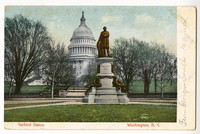 James A. Garfield statue at United States Capitol, Washington, D.C., 1901-1907