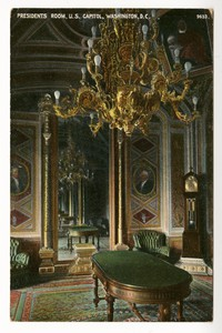 Presidents Room in the United States Capitol, Washington, D.C., 1907-1914
