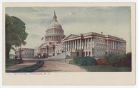 United States Capitol building, Washington, D.C., 1901-1907